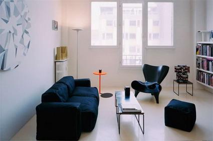 Un moderno apartamento