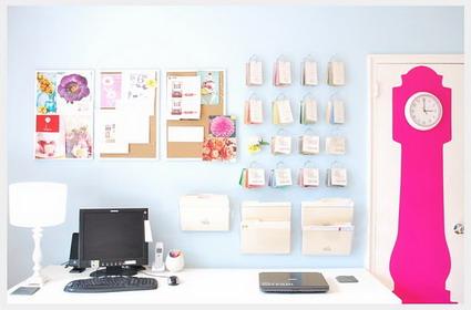 Una oficina con vida