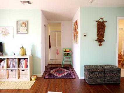 Un apartamento colorido