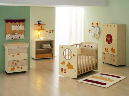 Decoración moderna para habitaciones infantiles