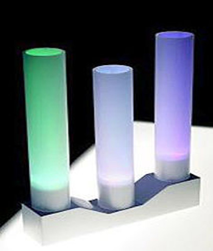 L mparas de colores para tu mesa de noche - Lamparas mesillas de noche ...