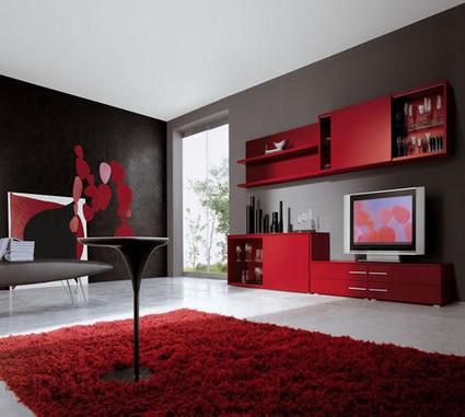 Living color rojo y cómo combinarlo