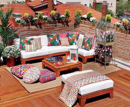 Como hacer un micro paraiso en tu terraza
