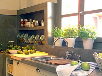 Decora tu cocina con plantas