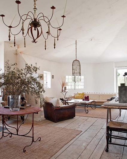 Una casa rústica en la Provenza francesa