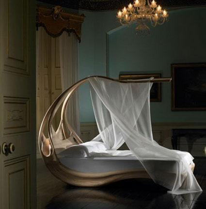 Cortinas canopy para tu cama