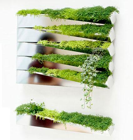 Una decoración ecológica para tu pared