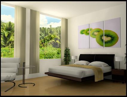 La naturaleza como tema en la decoración de tu salón