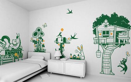Vinilos decorativos para habitaciones infantiles - DecoActual.com