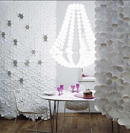 Decoraciones de paredes innovadoras