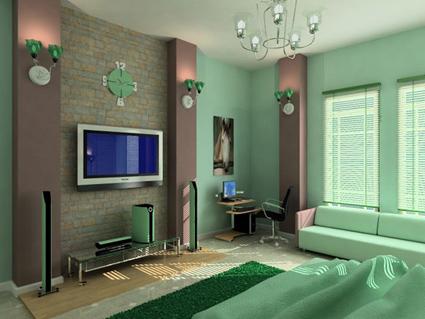 Decora tu dormitorio con el verde menta