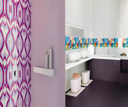 Llena de color tu cuarto de baño