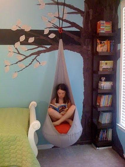 Espacio de lectura para niños