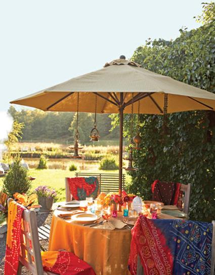 Decoraciones para fiestas en tu jardín