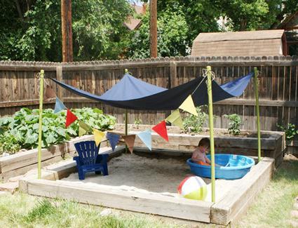 Ideas para adaptar el jardín a tus pequeños