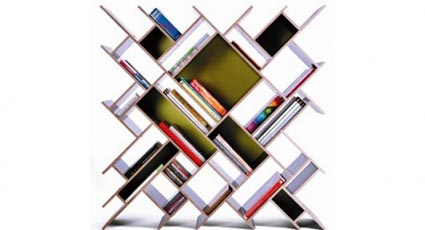 Decorativas bibliotecas modernas