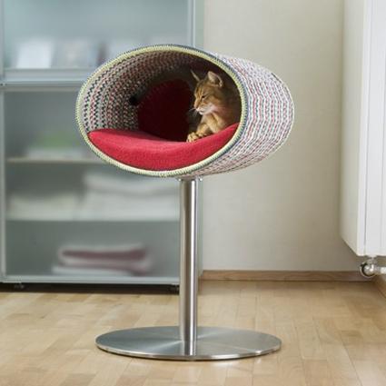 Camas de diseño para tu gato