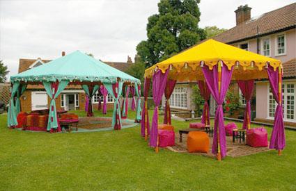 Ideas para decorar tus fiestas al aire libre
