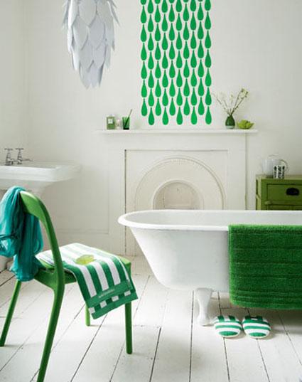 Muebles pintados en casa