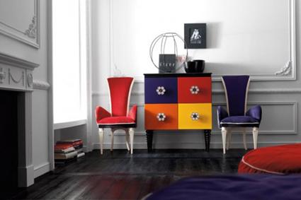 Muebles con compartimientos