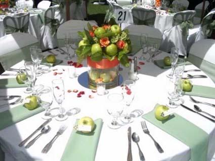 Decora tu misma las mesas para fiestas