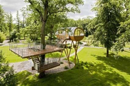 Espectaculares casas de árbol