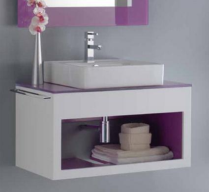Convertir un cuarto de ba o peque o en un espacio amplio for Muebles colgantes para banos pequenos