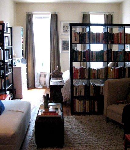 Cómo dividir espacios en apartamentos pequeños