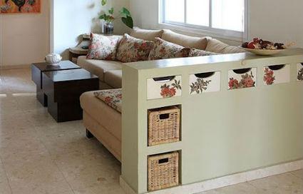 C mo dividir espacios en apartamentos peque os for Sillones para apartamentos pequenos