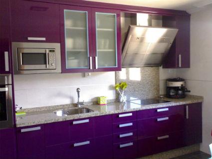 Cocina púrpura
