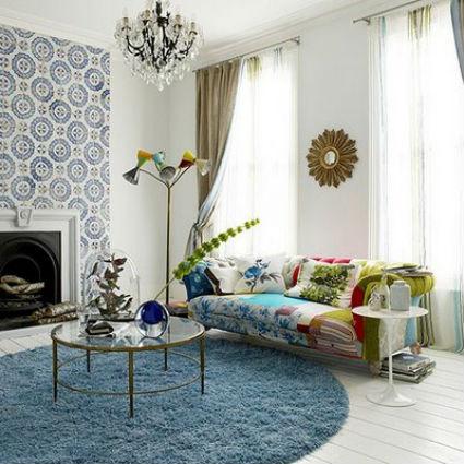 Tendencia: muebles con mucho color