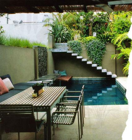 Muebles de exterior para el jardín