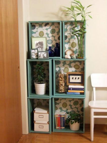 Detalles decorativos con objetos reciclados