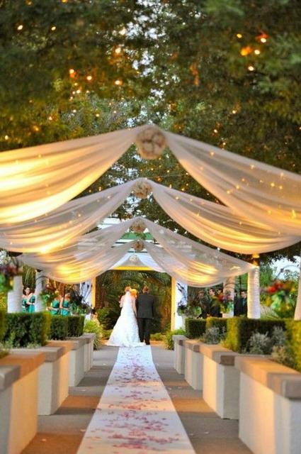 decoración para una boda al aire libre - decoactual