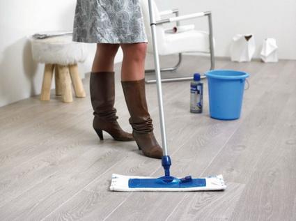Solución para limpiar suelos de madera