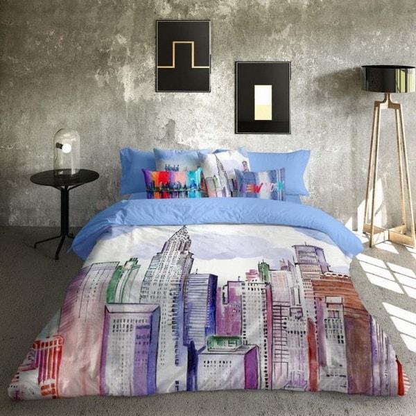 Ropa de cama con diseños urbanos