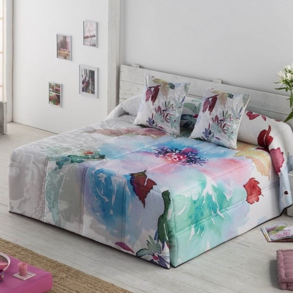 Ropa de cama en colores vivos