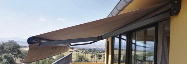 Tipos de toldos para terrazas