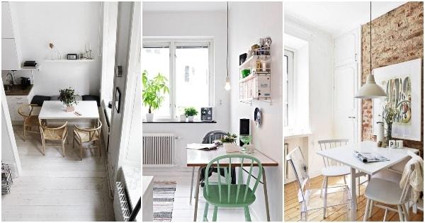 Ideas para decorar pequeños comedores - DecoActual.com