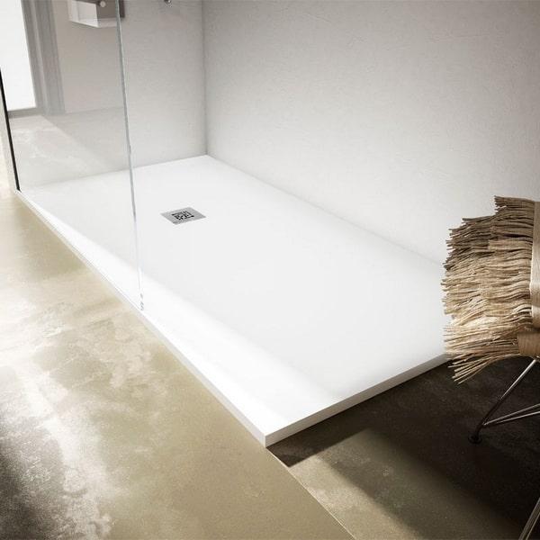 Platos de ducha de resina a medida