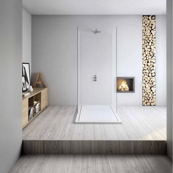 Baños modernos con platos de ducha