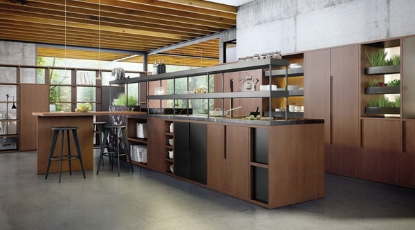 Mobiliario de cocina en madera
